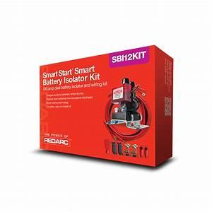 Redarc Sbi12kit 12v 100a Smart Start Battery Isolator And