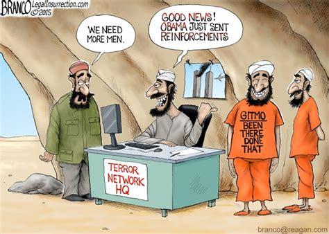 Gitmo Release A F Branco Political Cartoon Comically