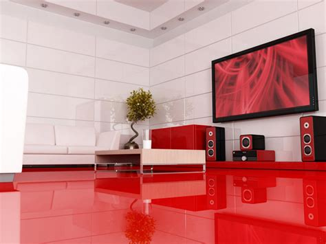 sexy red interiors inspirations    room