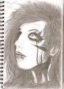 BVB Andy Biersack Drawing