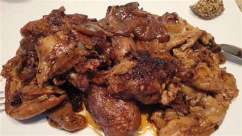 cuisiner les pieds de porc pied de porc