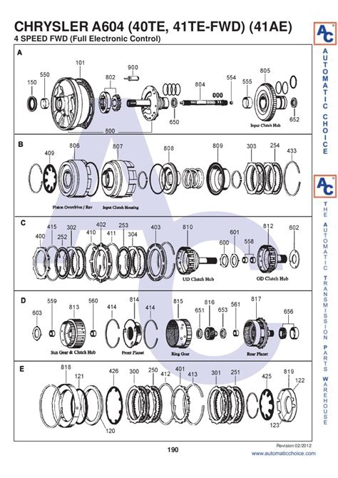 41te Transmission Diagram by 41te Transmission Diagram Pictures To Pin On