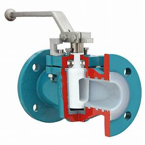 Lined Plug Valves With Chemical