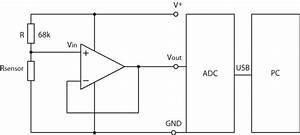 Signal Conditioning Circuit Of One Sensor  The Circuit Was
