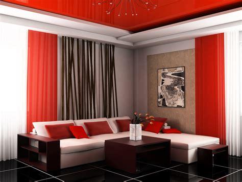 decoracion de salas en color rojo