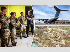 Hurricane Irma UK troops to prevent looting on British