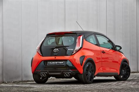 musketier sports   toyota aygo carscoops