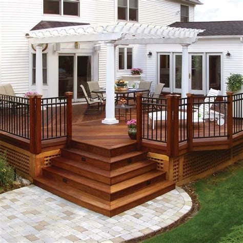 Small Patio And Deck Ideas by Best 25 Backyard Deck Designs Ideas On Decks