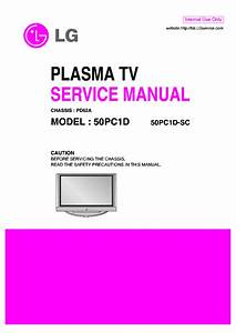 Lg 50pc1d Sc Chassis Pd62a Service Manual Download