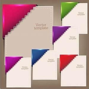 Colorful corner border designs free vector download ...