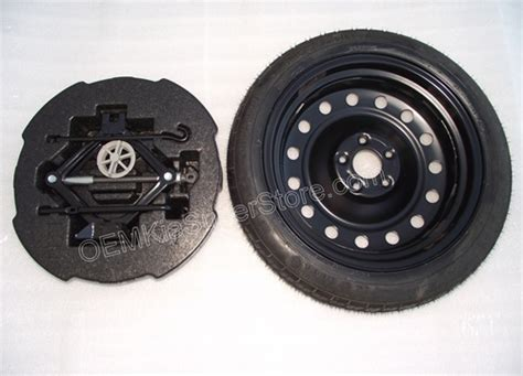 genuine   kia optima complete spare tire kit