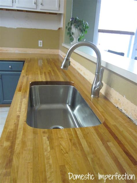 cost of butcher block countertops my butcher block countertops two years later domestic