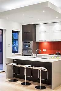 Couleur Cuisine Moderne : couleurs agr able pour une cuisine d co moderne et ~ Melissatoandfro.com Idées de Décoration