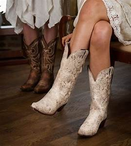 Howtocutecom popular cowgirl boots 25 cowgirlboots for Wedding dresses with cowgirl boots