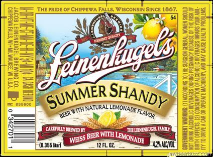 leinenkugels summer shandy arrives early  leap day
