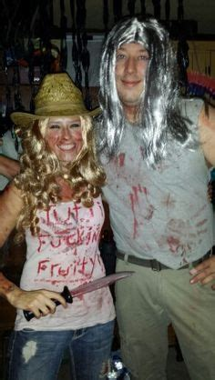 Coolest Otis Driftwood and Baby Couple Costume from The ...