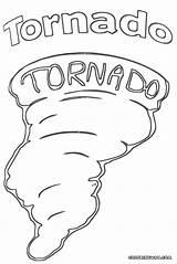 Tornado Coloring Pages Drawing Colorings Getdrawings sketch template