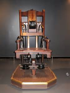 electric chair this chair was used to execute over 300 peo flickr