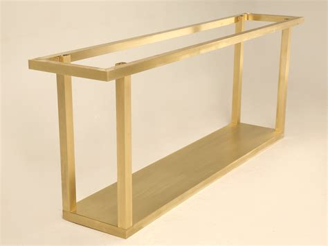 96 inch sofa table custom gabriella crespi brass console table for sale old