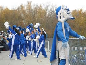 Middle Tennessee State Blue Raiders Mascot