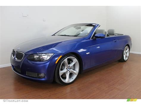 2009 Bmw 335i Convertible by 2009 Montego Blue Metallic Bmw 3 Series 335i Convertible