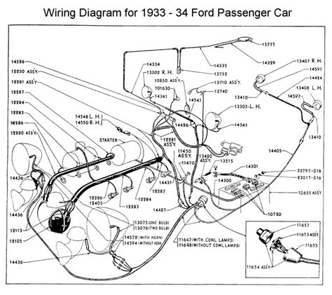 1951 Simca Wiring Diagram by Flathead Electrical Wiring Diagrams