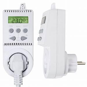 Reglage Thermostat Radiateur Electrique : prise de courant thermostat programmable pour chauffage ~ Dailycaller-alerts.com Idées de Décoration