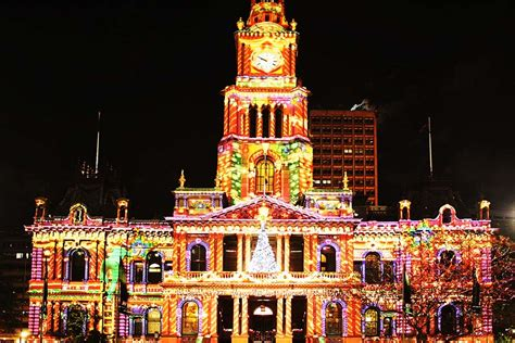 christmas lights sydney australia travel wonders of