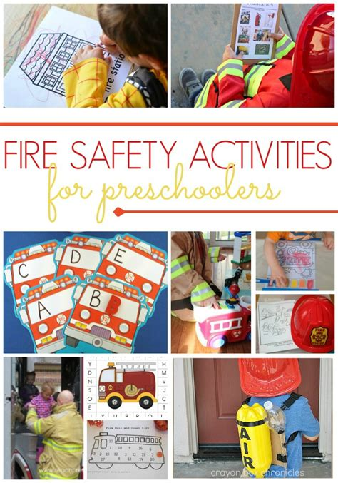 preschool activities for a safety theme pre k pages 940 | Fire Safety Activities for Preschool