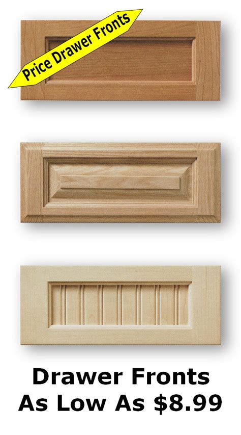 unfinished kitchen cabinet doors and drawer fronts drawer doors doors drawers drawer fronts and pulls