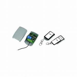 Kit télécommande universelle pour automatisme de portail et garage