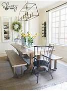 Farmhouse Dining Room Table Seats 12 by DIY Farmhouse Dining Bench Plans And Tutorial Shanty 2 Chic
