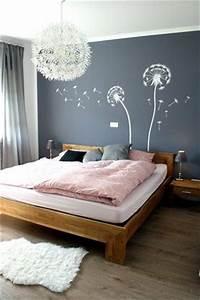 Graue Tapete Schlafzimmer : die besten 25 wandgestaltung schlafzimmer ideen auf ~ Michelbontemps.com Haus und Dekorationen