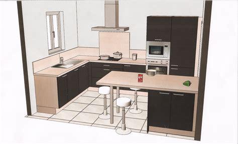 mod鑞e de plan de travail pour cuisine plan cuisine amenagee maison design bahbe com
