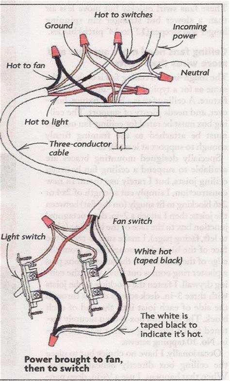 Bathroom Light Heater Fan Combo by How To Wire A Fan Light Switch