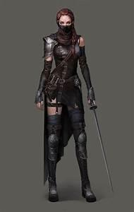 Female assassin   Fantasy Characters/PCs/NPCs   Pinterest ...
