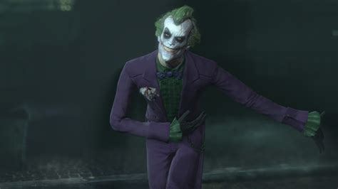 skin batman arkham city  dark knight joker youtube