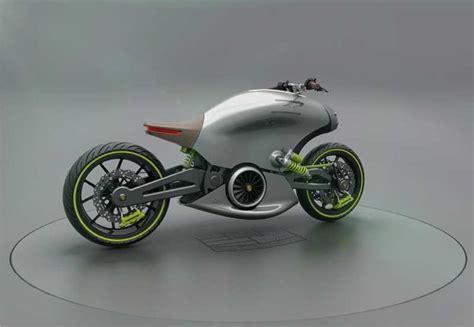 Porsche 618 Electric Motorcycle Concept