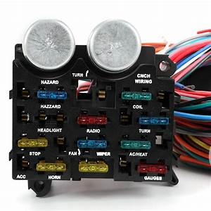 12 Circuit Fuse 12v Universal Wire Harness Muscle Car Hot