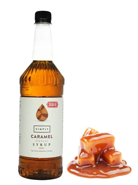 Add a dash of davinci gourmet flavored syrups to replicate your favorite coffeehouse latte or mocha at home. Simply Caramel Sugar Free Syrup - 1 Litre