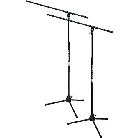 on stage stands tripod mic stand with boom guitar center