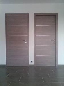 unique porte de garage et porte interieur bois sur mesure With porte garage bois sur mesure