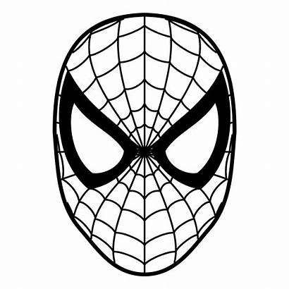 Spiderman Spider Clipart Clip Coloring Pages Svg