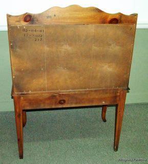 ethan allen drop front desk antique style drop front writing office desk