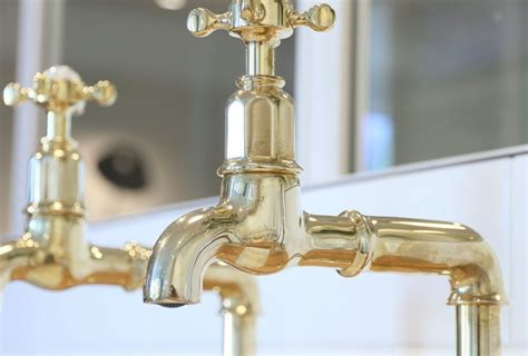fashioned bibcock taps traditional hot cold taps