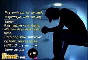 Sad Friendship Quotes Tagalog. QuotesGram