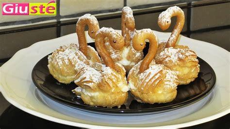 hervé cuisine pate a choux cygnes en pâte à choux les recettes de giusté cuisine