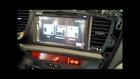 install unavi factory navigation system  kia