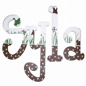 syla39s nature scene hand painted wall letters With painted wall letters