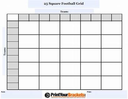 Football Square Grid Customizable Pool Customize